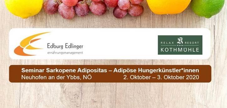 Seminar Sarkopene Adipositas – Adipöse HungerkünstlerInnen